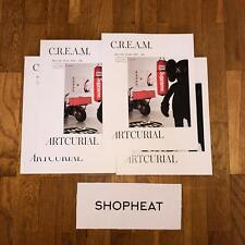 Supreme ARTCURIAL C.R.E.A.M (Cash Rules Everything Around Me) Magazine Brand New