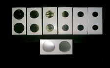 500 2X2 CARDBOARD MYLAR COIN HOLDER FLIPS (ASSORTMENT)