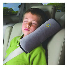 Auto Kids Children Safety Seat Belt Vehicle Shoulder Pillows Cushion Pad Gray