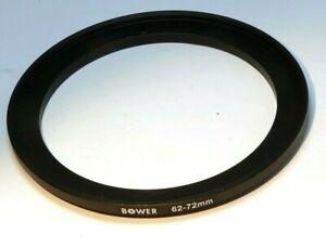 62mm Pour 72mm Lentille Anneau Intensification Fileté Mâle Femelle Mince Profil