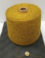Wolle Garn Stricken weben  Bouclé gold effekt  seide l lhandstrickgarn 1kg s01