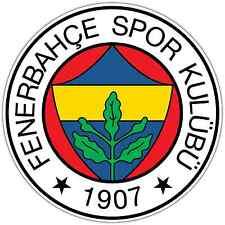 """Fenerbahce SK FC Turkey Football Soccer Car Bumper Vinyl Sticker Decal 4.6""""X4.6"""""""