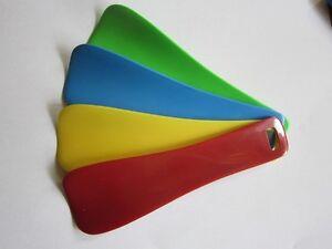 5 Stück Schuhlöffel Schuhanzieher Kunststoff passt in jede Handtasche