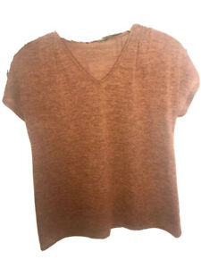 BNWT Ladies Rusty T Shirt Relaxed Casual Short Sleeve Knit Sz10/Small