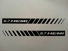 5.7 HEMI STROBE STRIPES ** HOOD DECALS ** MOPAR * DODGE RAM 6.1 CHARGER SRT8
