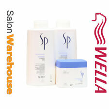 Wella SP System Professional HYDRATE SHAMPOO + CONDITIONER Litre + Mask 400ml