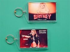 BRITNEY SPEARS - Piece of Me Las Vegas - with 2 Photos - GIFT Keychain 08