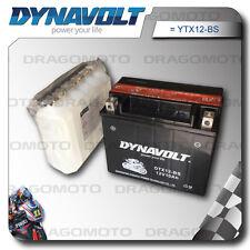 BATTERIA DYNAVOLT HONDA 250 Foresight 1999 99 2000 00 YTX12-BS