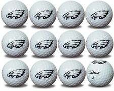 Philadelphia Eagles Titleist ProV1 Refinished NFL Golf Balls 1 Dozen