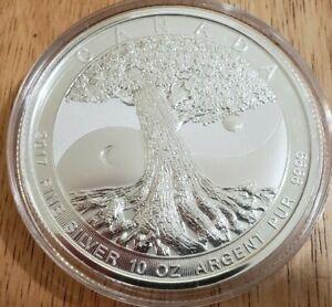 2017 50 Dollar 10oz Silver Tree of Life Coin