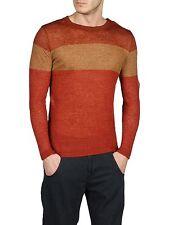 DIESEL k-alcor rosso maglione taglia S 100% AUTENTICO