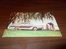 1963 Ford Fairlane Station Wagon Vintage Advertising Postcard