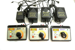 Lot of MTH / RAIL KING Z-750 & Z Controllers with Z750 / Z500 Transformers
