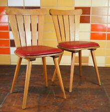 Vintage Stuhl Rockabilly Esszimmerstuhl Küchenstuhl Mid-Century Retro 50er 1/6