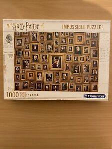 Clementoni Harry Potter Impossible 1000 Piece Jigsaw Puzzle - 61881
