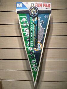 Jacksonville Jaguars Inaugural Season Fan Pak Pennant Bumper Sticker Pin 1995
