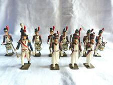 12 soldats de plomb CBG MIGNOT - Tête de colonne des grenadiers de la garde.