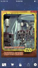 Topps Star Wars Digital Card Trader Yellow Geonosis Battle Droid Insert