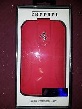 Etui Ferrari cg mobile en cuir Taille L