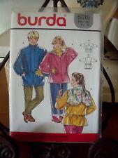 "PATRON"" BURDA BLOUSON AVEC OU SANS CAPUCHE  TAILLE  4  A  10 ANS  N°5015"