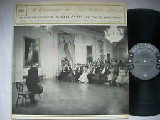 "PABLO CASALS ""Concert At The White House"" SCHNEIDER Horszowski KL-5726 Mono NM-"