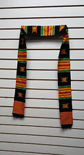 Authentic Ghana Africa Asante Kente Cloth Strip/African Clothing 39800GG8999