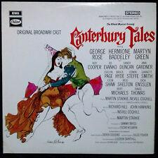 BROADWAY CAST - CANTERBURY TALES VINYL LP AUSTRALIA