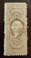US Revenue Stamp Collection Scott # R50c - Used