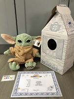 SOLD OUT Build A Bear The Child Baby Yoda w/ 5-in-1 Sounds and Mandalorian Theme