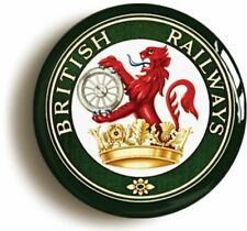 The End of the Steam era British Railways Logo Button Badge 25mm