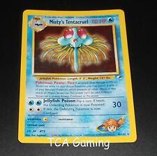 Misty's Tentacruel 10/132 Gym Heroes Set HOLO RARE Pokemon Card EXCELLENT