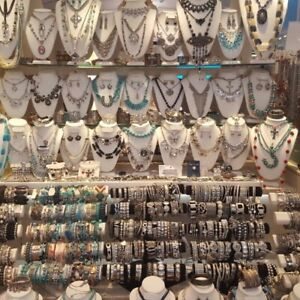 150 pc Wholesale Jewelry Lot- Quality Necklaces, Bracelets, Earrings, Rings, New