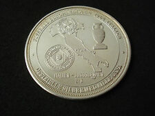 Italy - Yugoslavia, 1987, UEFA proof silver medal, 20 g, football, Germany 1988