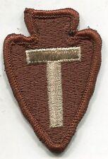 36th INFANTRY DIVISION PATCH DCU DESERT TAN COLOR