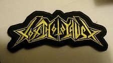 TOXIC HOLOCAUST Patch Embroidered Iron/Sew on THRASH METAL Fast Delivery Y