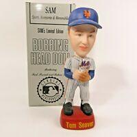 1992 TOM SEAVER NEW YORK METS S.A.M. SAM Bobblehead NODDER porcelain in orig BOX