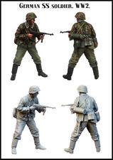 1/35 Escala resina Figura MODELO CONJUNTO ss soldado EM-35172