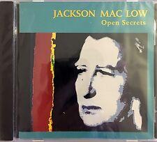 Jackson Mac Low CD Open Secrets - USA (M/M - Scellé / Sealed)