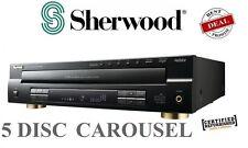 Sherwood CDC5506 5-Disc CD Player Player w/ USB Carousel CD Changer