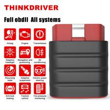 Thinkdriver Car OBD2 Scanner Bluetooth ABS SRS Scan Code Reader Diagnostic Tool
