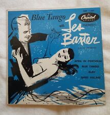 45 RPM  EP - Blue Tango with Les Baxter - Capitol EAP 1-447 April in Portugal