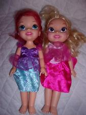 "Aurora Sleeping Beauty First Disney Princess Playmates Doll Little Mermaid 14"""