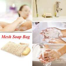 1 PC Home Hemp Exfoliating Hanging Cleaning Storage Bag Cleaning Soap Accessory