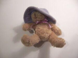 Avon purple hat bear            #R114