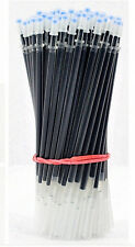 15pcs/Lot Gel Ink Pen Needle Refill 0.38MM Replace Cartridge Movements Black