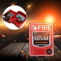 Fire Alarm Pull Station Addressable Single Action new.