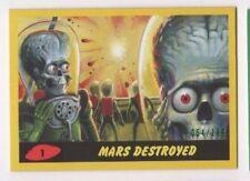 2017 Mars Attacks Revenge complete YELLOW base & pencil set 1-55 total 110 x/199