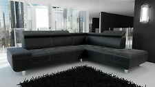Couch Garnitur Ecksofa Sofagarnitur Sofa REENO Wohnlandschaft KURZZEIT ANGEBOT