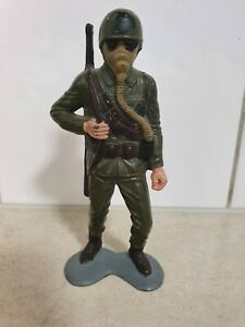 14cm COMBAT SOLDIERS  LOUIS MARX & CO. INC.1963 HONG KONG