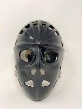 Vintage Adjustable Mylec Black Street Hockey Goalie Mask EUC